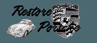 Restore Porsche logo